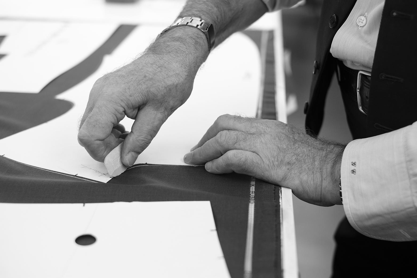 dc8e46863b5c Luca Callegaro si definisce un artigiano del ben vestire
